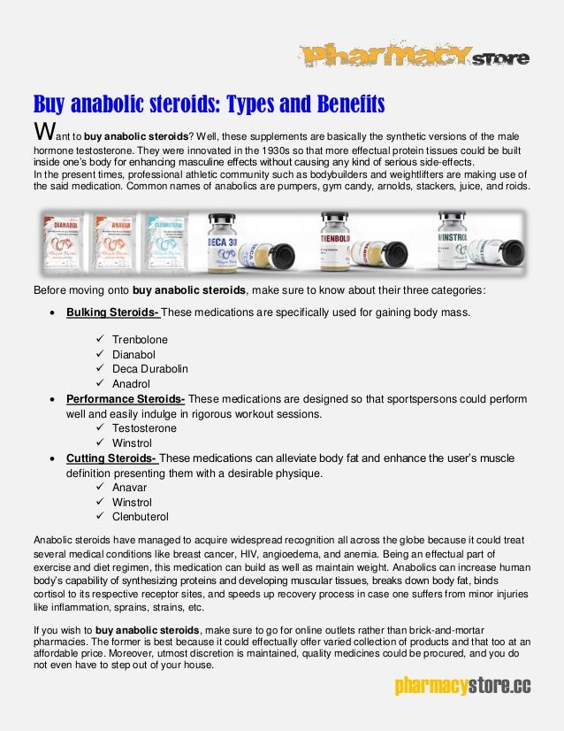 BuyAnabolicSteroids: Types And Benefits | Buy Steroids Online USA