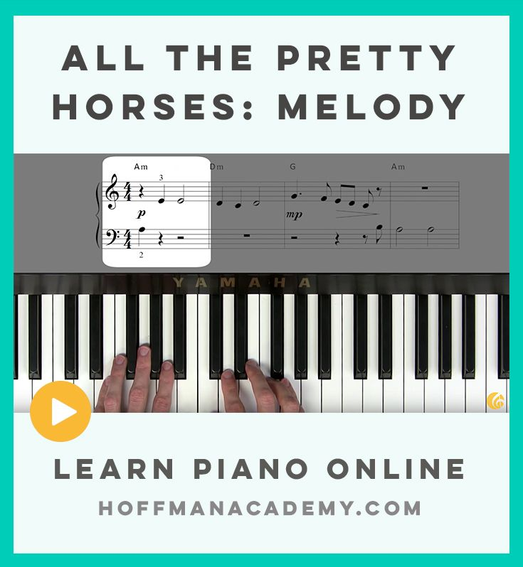 Lesson 124 – All the Pretty Horses: Melody: Learn how to play the melody of the folk song 'All the Pretty Horses'