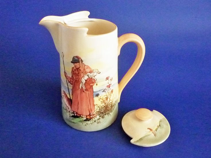 'Cotswold Shepherd' New Barton Covered Jug D5561 c1936