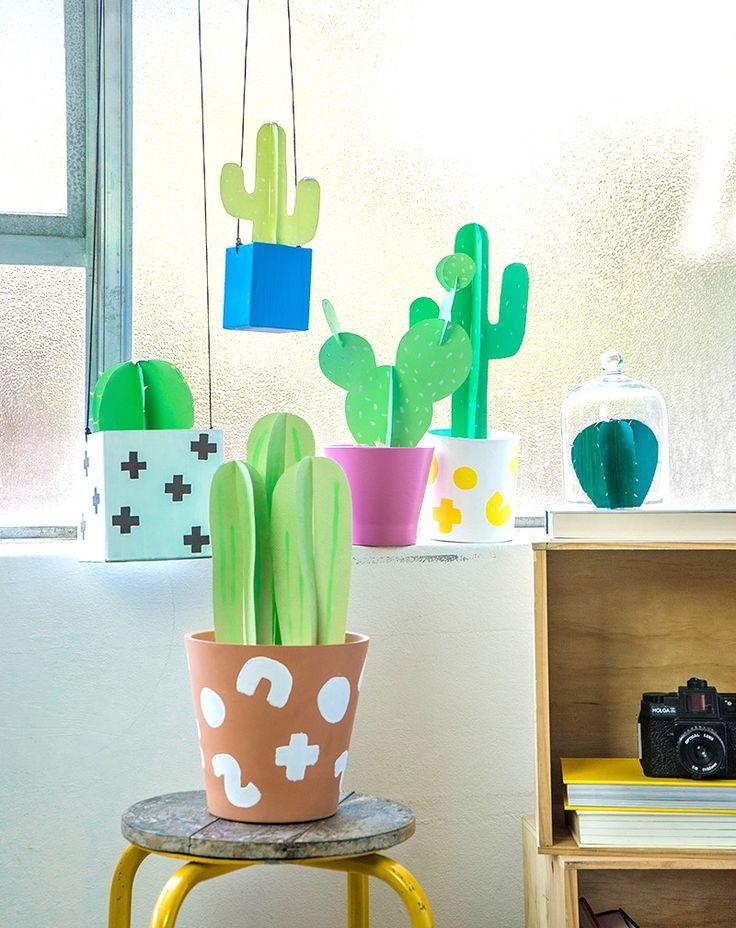 Paper cactus project