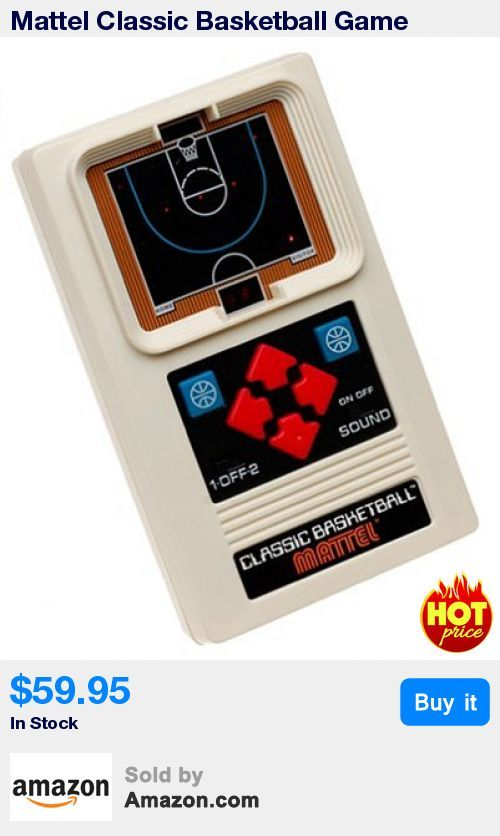 The original electronic handheld BASKETBALL game ¿ a classic for a new generation of sports enthusiasts. * Lets kids compete against each other and the computer. * Designed for one or two players * Classic electronic basketball at it's best * Recommended Age Range 8 and Up