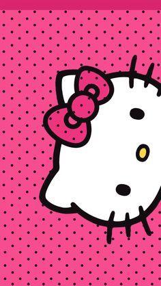 Resultado de imagen para fondos de hello kitty para iphone