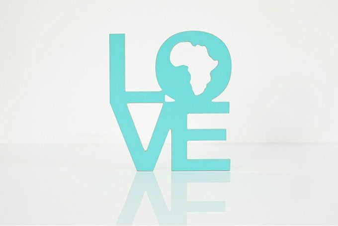 wooden words - love africa by Bokke & Blomme on hellopretty.co.za