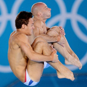 Tom Daley and Pete Waterfield - Team GB.