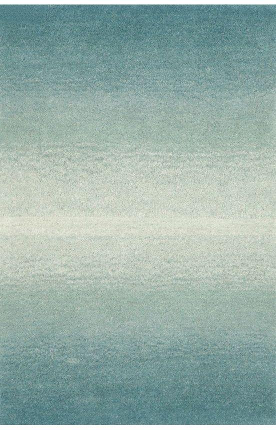 Trans Ocean Ombre Horizon Aqua Rug | Contemporary Rugs