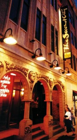 Chicago's famous Second City comedy club, where many big-time comedians got their start