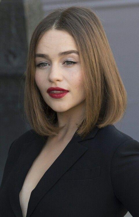 Emilia Clarke Dior Spring 2016 Runway Show Makeover
