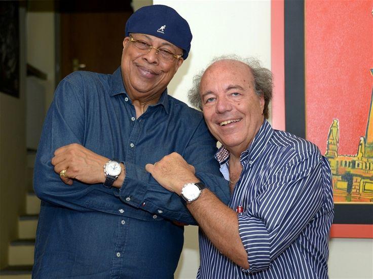 Chucho Valdés with Cuervo y Sobrinos Chairman Marzio Villa