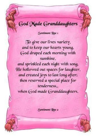 Grand-Daughter's Quotes  