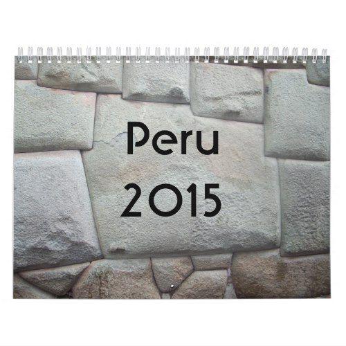 Peru - 2015 Calendar