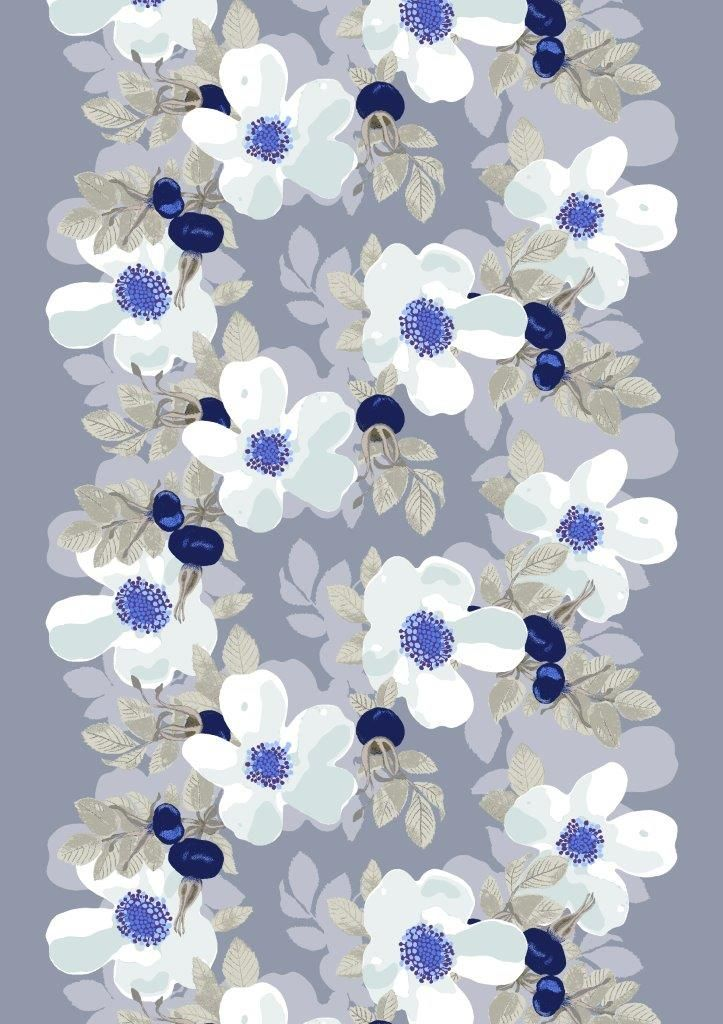 Vallila Interior AW14, Rosanna blue by Tanja Orsjoki