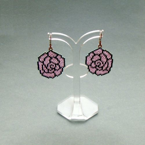 brick stitch earring patterns instructions