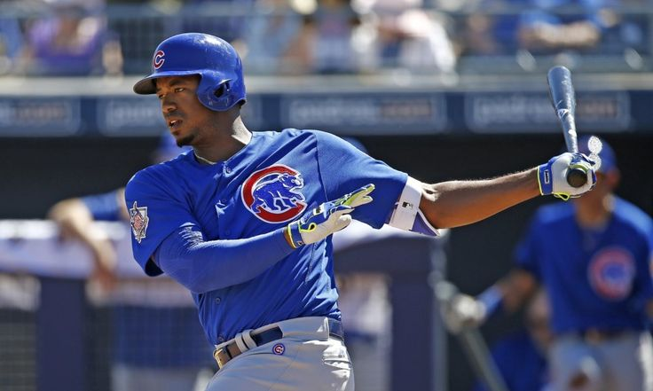 Cubs' top prospect Eloy Jimenez dealing with bruised shoulder = Cubs outfielder and top prospect Eloy Jimenez has been diagnosed with a bruised right shoulder, the organization announced Monday afternoon. As a result of the lingering bone bruise, Jimenez will now rest for at least the next three weeks. Despite his status within the Cubs' organization, the up-and-coming outfielder will more than likely begin the 2017 regular season within the minor league ranks. The youngster is…..