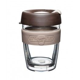 Reusable glass coffee cups