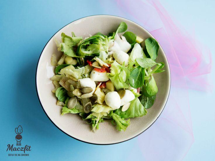 Alternatywa na ciepłe letnie dni!  #sałatki #salad #lekkie #light #summer #green #vegetables