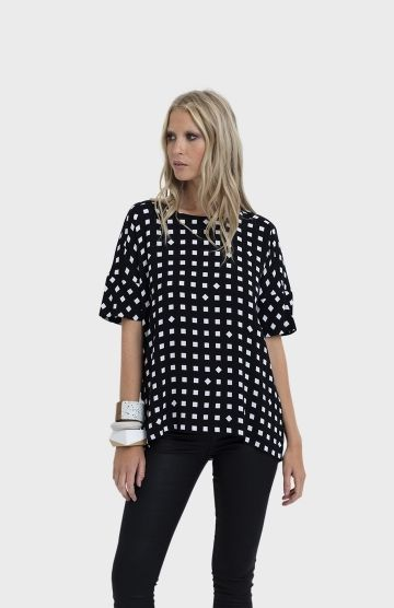 The Tile Print Wide Top Front By Elk The Label