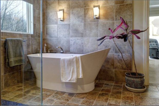 Free Standing Jetted Tubs   ... free standing bathtub replaced a big whirlpool model in the dublin