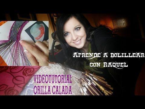 Orilla calada Encaje de Bolillos - YouTube