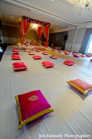 indian-wedding-ceremony-indoors-mandap http://maharaniweddings.com/gallery/photo/2830