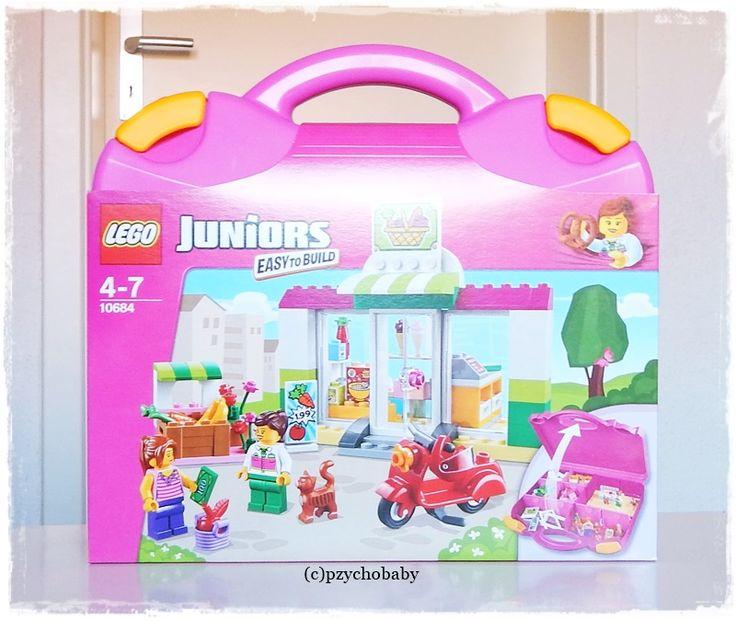 Lego Juniors Einkaufsladen - Aufbauen, Spiel, Spaß haben