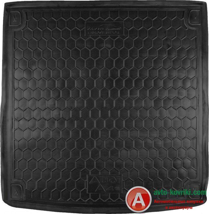 Модельный автомобильный резиновый коврик в багажник  для Audi A-4 (B8) 2008- SportBack от Auto-Gumm