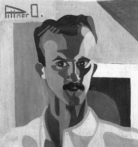 Pittner Olivér - Pittner Olivér: Önarckép, 1930-as évek
