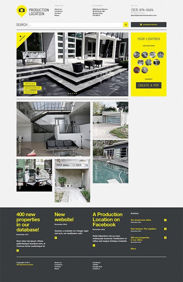 b6831a5df0d9a9de0f4c8ca7aff97fba 20 Gorgeous Examples of Web Design Inspiration | Part 2