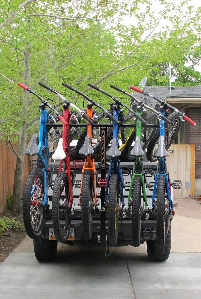 Anyone Have A North Shore 4 Bike Rack Life Hacks Diy