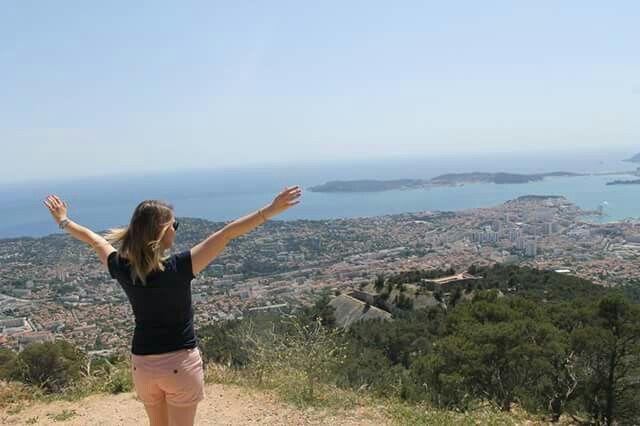 Mont Faron ~ vue sur Toulon