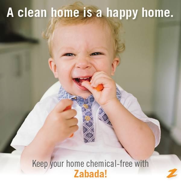 Don't bring chemicals into your home. Make your home a healthy environment with Zabada