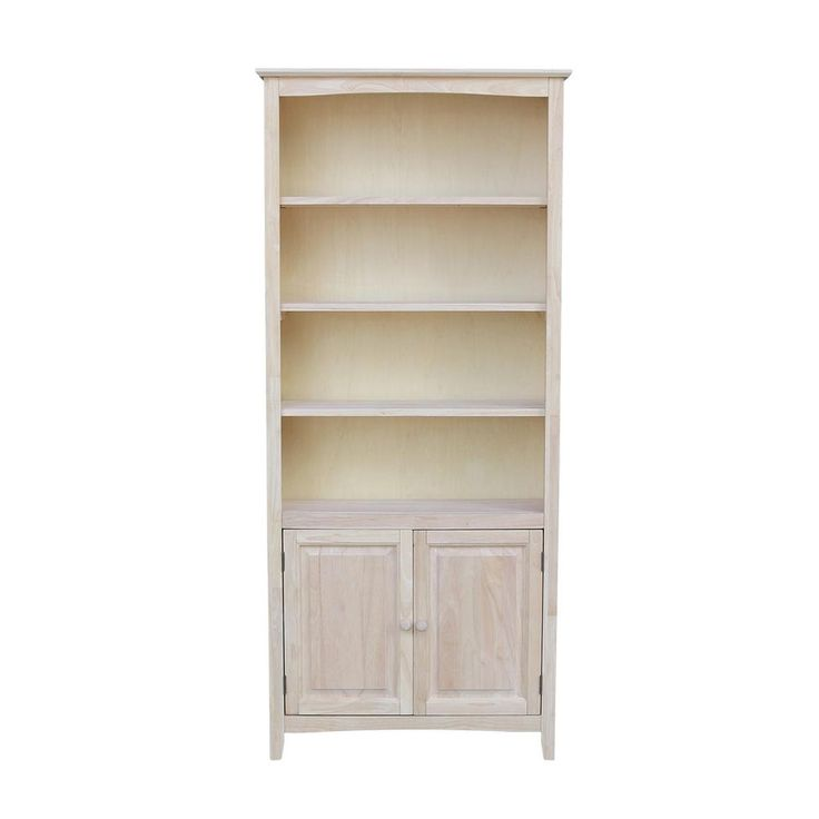Natural 4 Shelf Corner Folding Bookcase Bookcase Adjustable Shelving Wood Bookcase