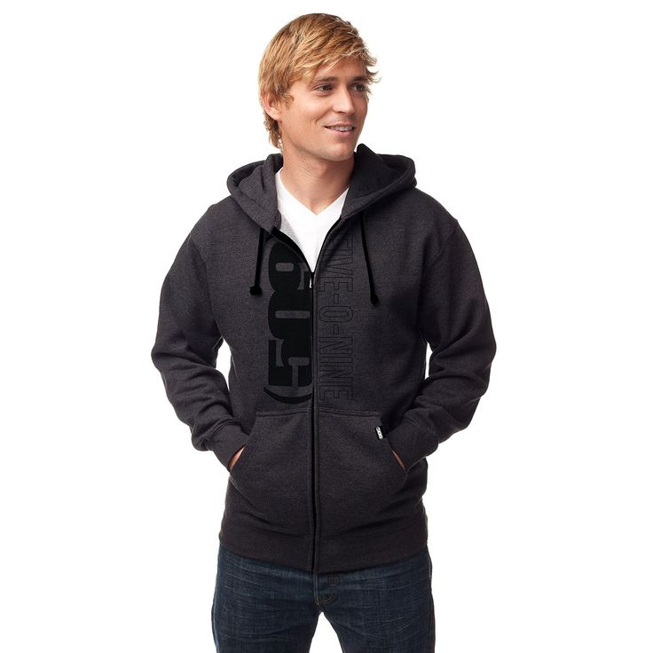 The Five-0-Nine Zip Hooded Sweatshirt by 509® features: 9-oz, 50/50 cotton/polyester fleece 2-ply hood Set-in sleeves Front pouch pocket 509® screen print design