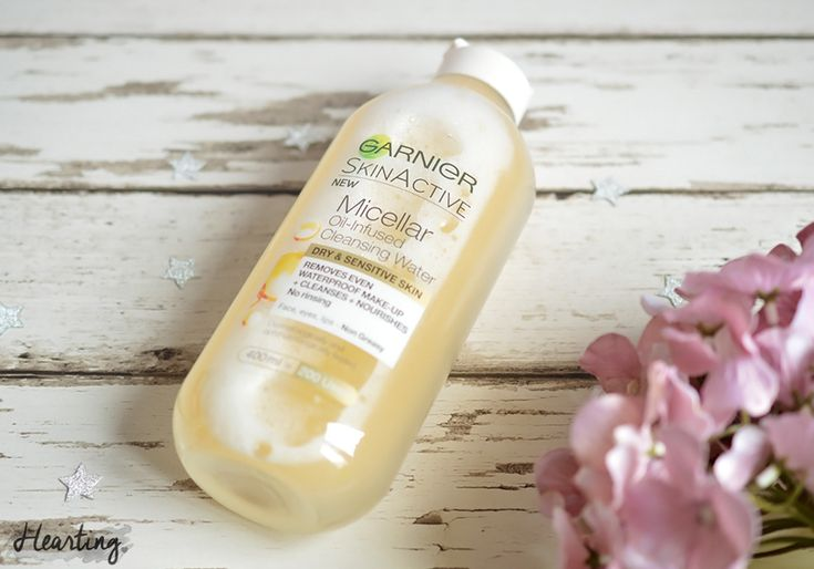 Review | Garnier Oil Infused Micellar Cleansing Water