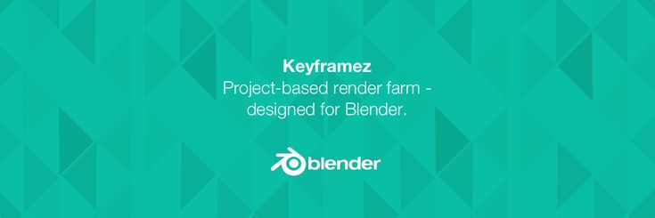 Keyframez offers a project-based, online render farm tailored for 3D content authors that will speed up your workflow. Render your animations created in Blender with a touch of a button.