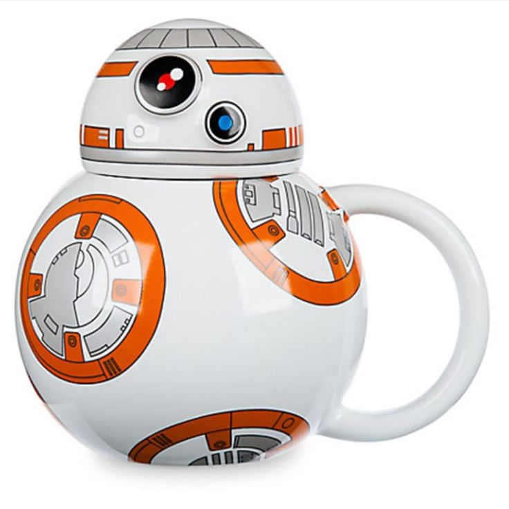 BB8 Star Wars The Force Awakens Coffee Cup Disney Store