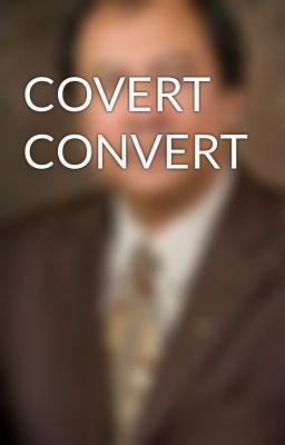 """Read """"COVERT CONVERT"""" #wattpad #spiritual"""