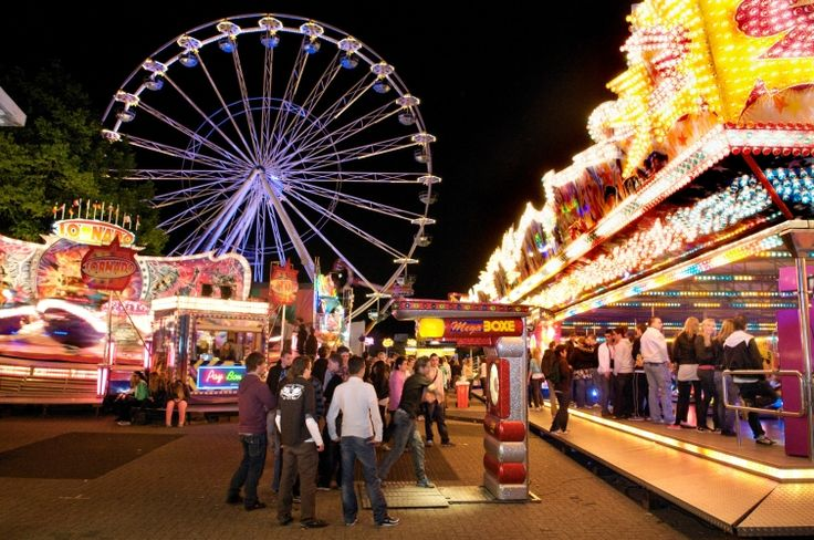 """The """"Kermis"""" is everywhere in the Netherlands where people come to towns with a lot of attractions"""