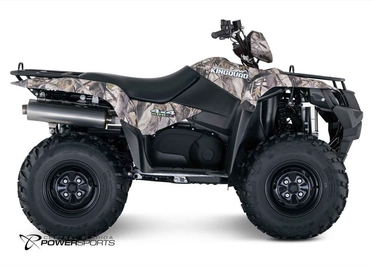 New 2016 Suzuki KingQuad 500 AXi Camo Power Steering ATVs For Sale in Florida. 2016 Suzuki KingQuad 500 AXi Camo Power Steering, From the most remote areas to the most everyday tasks, you'll find the KingQuad powering a rider onward. And every year, we continue to evolve our machines to meet the demands of our riders. Quicker response. Smoother power. Better fuel consumption. Across the board, our KingQuad lineup is a dominating group of ATVs. The 2016 Suzuki KingQuad 500AXi Power Steering…