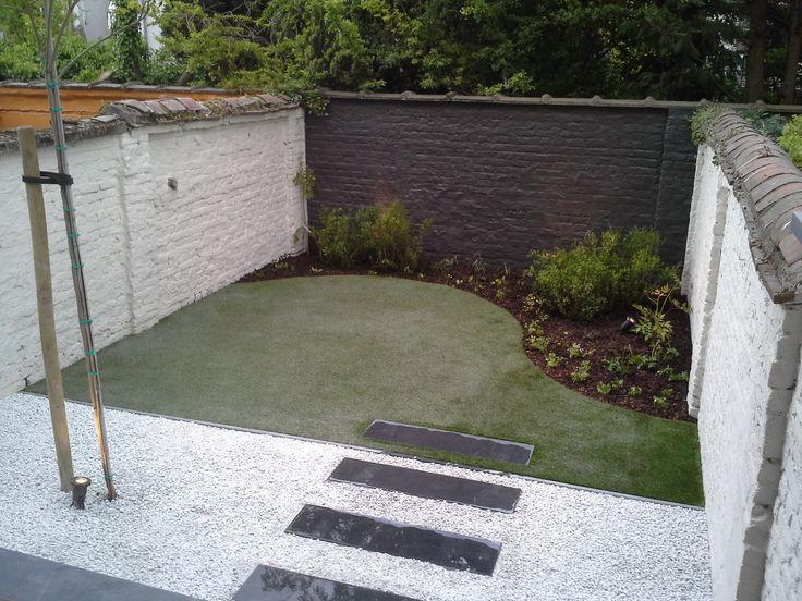 112 best de kleine tuin images on pinterest garden ideas small gardens and landscaping - Tuin grind decoratief ...