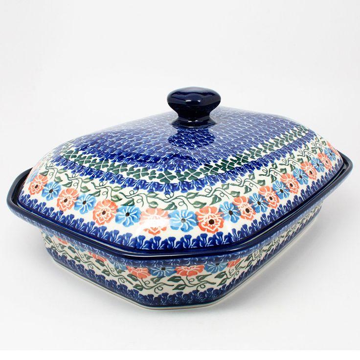 Superior XLarge Covered Baking Dish #1369   Polish Kitchen Online