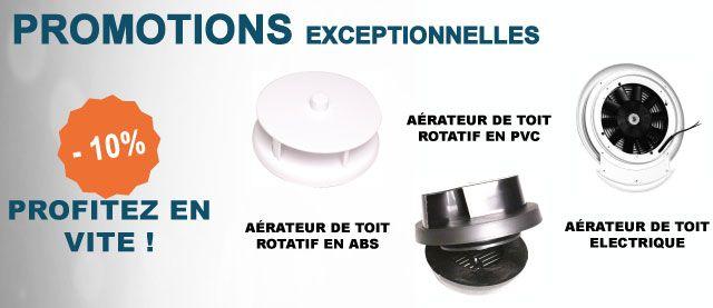 Promotions exceptionnelles sur les aérateurs de toit en ce moment ! Tous les renseignements sur notre site internet : http://www.equipandgo.com/
