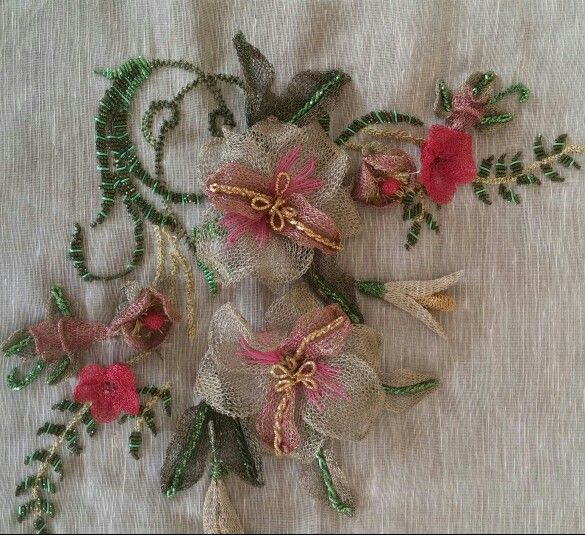 Titanium embroidery Şule YILMAZ
