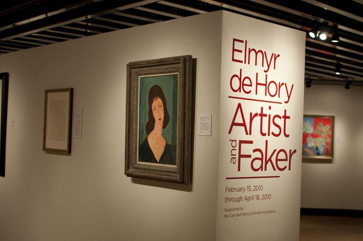 """Elmyr de Hory show, """"Artist and Faker"""""""