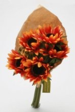 Sunflower Bouquet In Orange