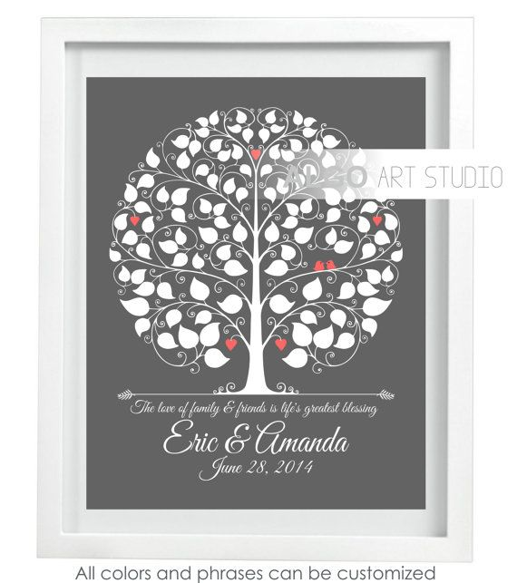 Wedding Sign Tree, Wedding Keepsake, Wedding Tree, Wedding Alternative ...