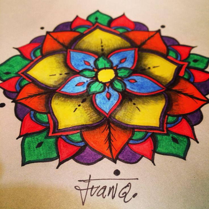 Colors, mandalas