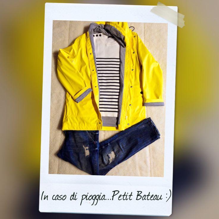 Petit Bateau rain coat