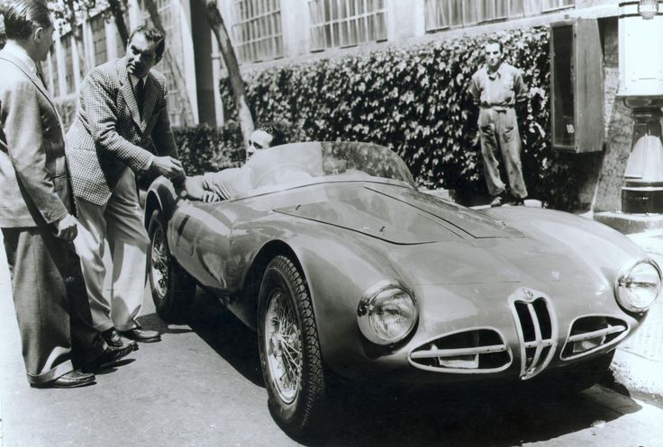 Alfa Romeo C52 Disco Volante Spider 'Fianchi Stretti' (Touring), 1952