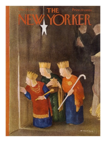 The New Yorker Cover - December 22, 1951 William Cotton