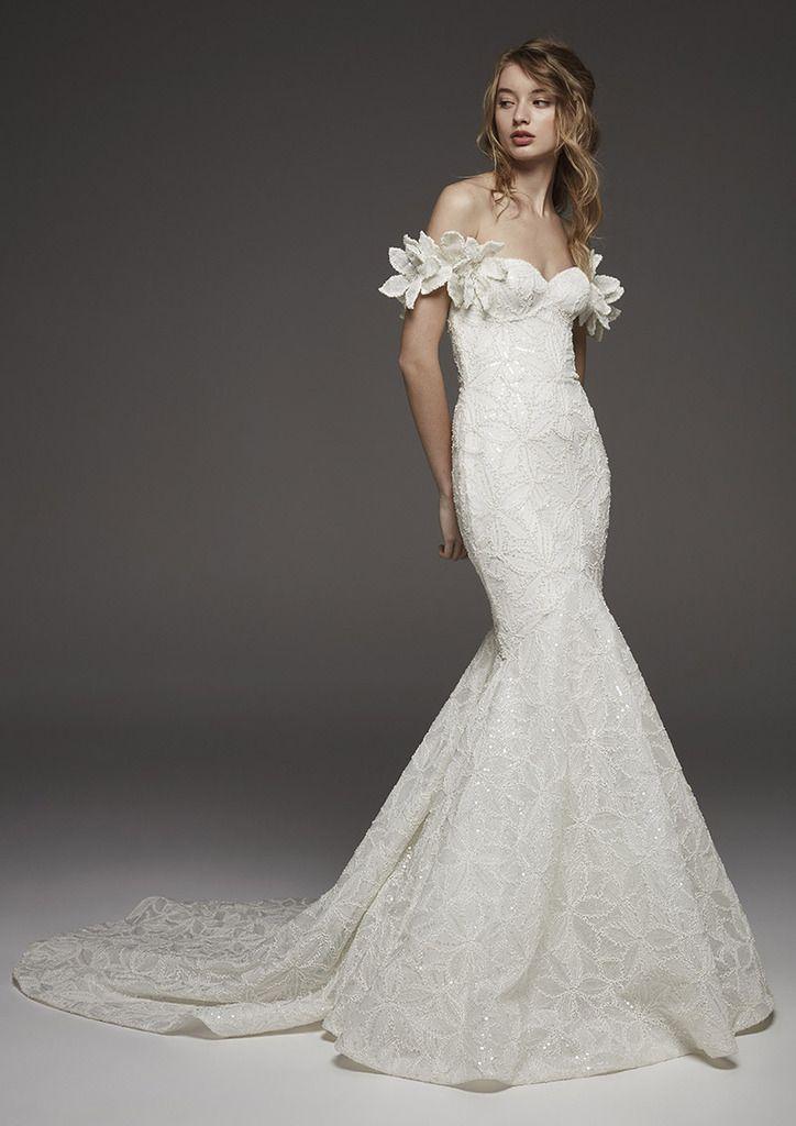 vestido de novia de la colección avance de atelier pronovias 2019